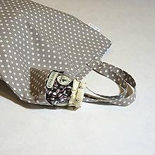 Nákupné tašky - Taška s puntíky - 11071991_