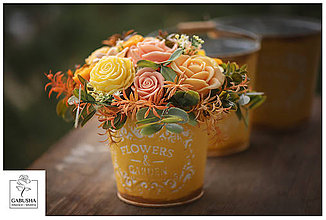 Dekorácie - Voňavá,dekoračná  kytica - 11071836_