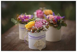 Dekorácie - Voňavá,dekoračná  kytica - 11071845_