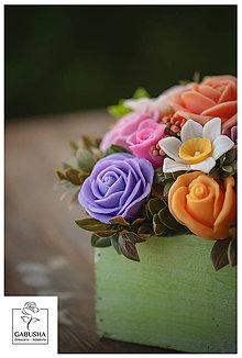 Dekorácie - Voňavá,dekoračná  kytica - 11071868_