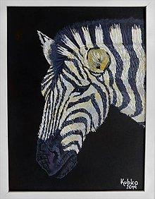 Obrazy - 1. Zebra - 11073139_