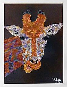 Obrazy - 2. Žirafa - 11073147_