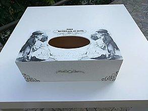 Krabičky - Zásobník - detská láska - 11074142_