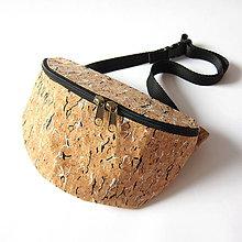 Iné tašky - RETRO COMEBACK - Woody (black & white) - 11073969_
