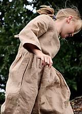 Šaty - lněné - 11075452_