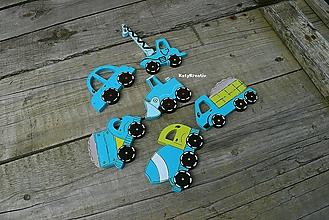 Detské doplnky - autíčka - 11075200_