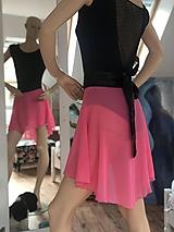 Sukne - sukně Sára růžová no.11 - 11074973_