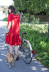 Šaty - ľanové šaty hrubé - 11076699_