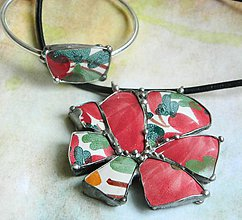 Sady šperkov - Střepy přinášejí štěstí...souprava - 11076107_