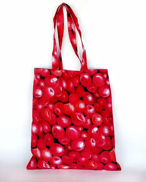 Skladacia eko nákupná taška jabĺčka