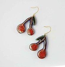 Náušnice - Tana šperky - keramika/zlato - 11075812_