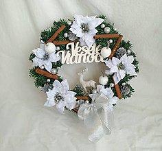 Dekorácie - Vianočný venček - 11076073_