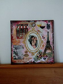 Obrazy - Love in Paris - 11075312_