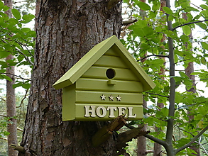 Pre zvieratká - Vtáčia búdka / domček / *** HOTEL - 11078367_