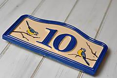 Tabuľky - Číslo domu z keramiky - 11076013_