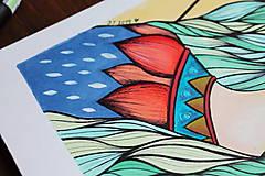 Kresby - Jeseň očakáva - originál - 11078924_
