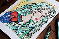 Kresby - Jeseň očakáva - originál - 11078927_