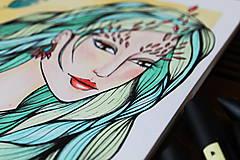 Kresby - Jeseň očakáva - originál - 11078929_