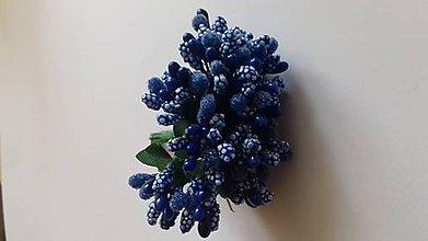 Iný materiál - Piestiky do kytíc (Modrá) - 11076431_