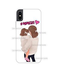 """Na mobil - Kryt na mobil """"#MOMLIFE"""" (mama a dcéra) - 11077935_"""
