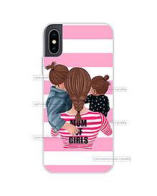 """Na mobil - Kryt na mobil """"MOM OF GIRLS"""" (mama a dcéry) - 11078151_"""