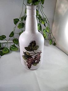 Nádoby - Fľaša na víno - 11077784_