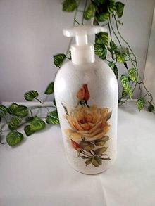 Nádoby - Fľaša na Jar alebo tekuté mydlo - 11078865_