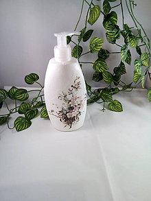 Nádoby - Fľaša na sprchovací gél alebo jar,tekuté mydlo - 11078886_