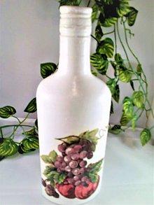 Nádoby - Fľaša na víno alebo mušt - 11078933_