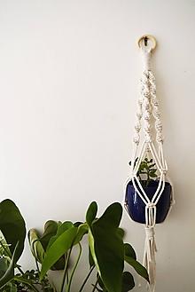 Dekorácie - Držiak na kvetináč NATURAL - 11075410_