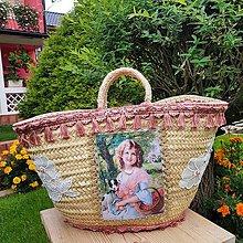 Kabelky - Originálna košíková kabelka do ruky - 11077859_