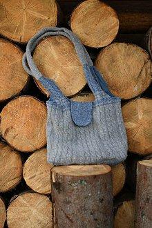 Iné tašky - plstená kabela - maxi - 11077825_