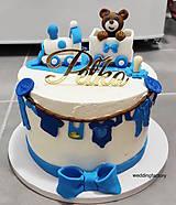 Dekorácie - Zrkadlový zápich na tortu - Meno (13x15cm) - 11077219_