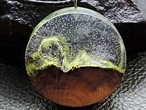 Náhrdelníky - Drevený náhrdelník - Horský vzduch - 11075362_