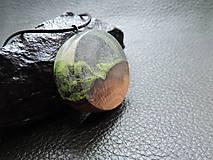 Náhrdelníky - Drevený náhrdelník - Horský vzduch - 11075363_