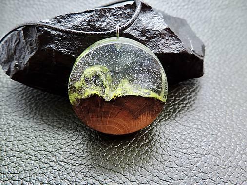 Drevený náhrdelník - Horský vzduch