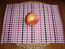 Textil - Obrúsok na desiatu guličky - 11077647_