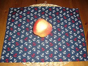 Textil - Obrúsok na desiatu anchor - 11077799_