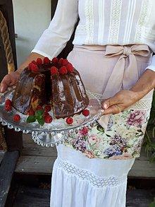 Iné oblečenie - Ľanová kuchynská zástera Madame Bovary - 11078381_