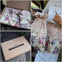 Úžitkový textil - Darčeková sada Madame Bovary - 11078475_