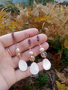 Sady šperkov - Sada šperkov s riečnou perlou - 11075927_