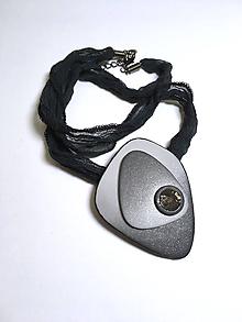 Náhrdelníky - Náhrdelník Čierne oko - 11082758_