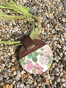 Náhrdelníky - Náhrdelník Kvetinky - 11082862_