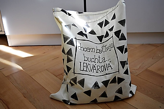 Úžitkový textil - Vrecko na pečivo...lekvárová buchta - 11081520_