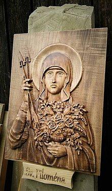 Dekorácie - Drevorezba Sv. Filoména - 11082141_
