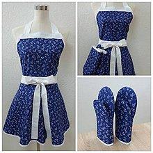 Úžitkový textil - Zástera a chňapky - 11082502_