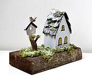 Dekorácie - Drevená dekorácia-Keď príde zima - 11079802_