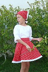 Detské oblečenie - Suknička + ručníček - 11082763_