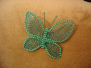 Odznaky/Brošne - Motýlik - 11082172_
