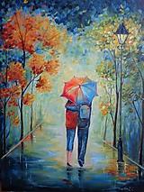 Obrazy - Láska pod dáždnikom... - 11081138_